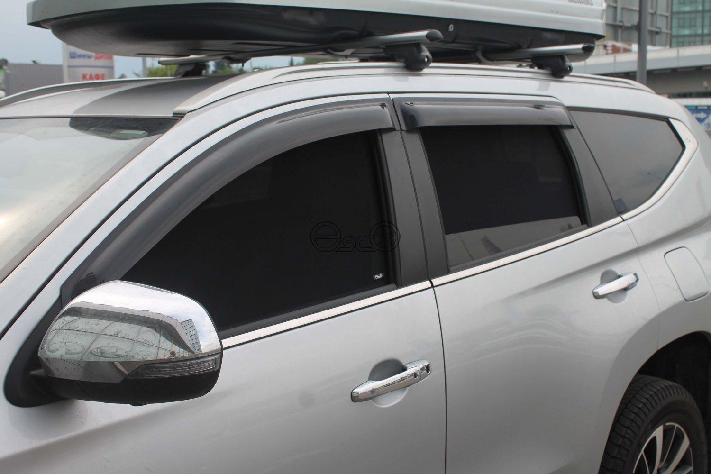 Каркасные сетки на окна Mitsubishi Pajero Sport 3