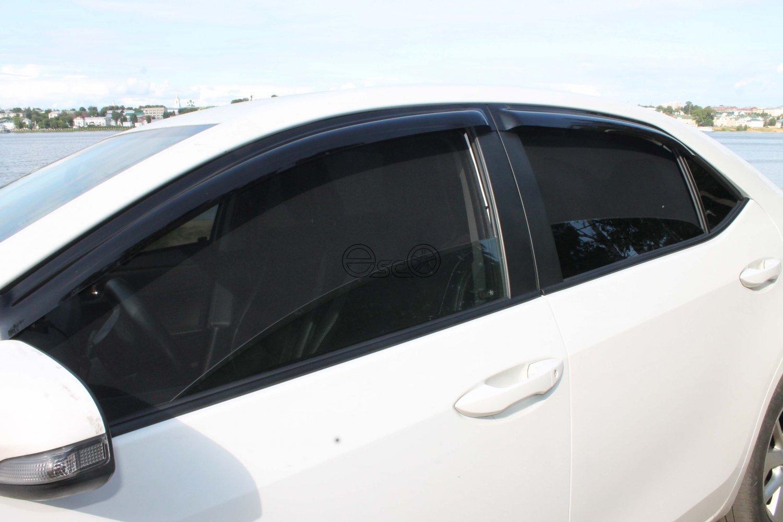 Каркасные сетки на окна Toyota Corolla E180