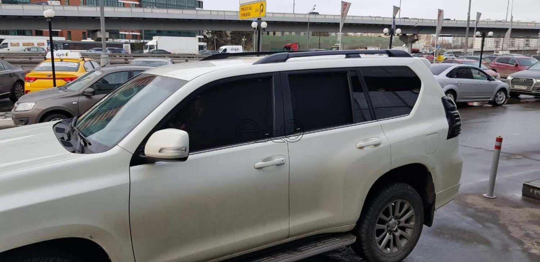 Каркасные шторки на Toyota Land Cruiser Prado J150